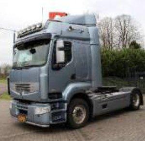 Renault Premium 430 pk truck voor Saxony Trans.