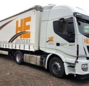HE-Logistics B.V. blijft met nieuw materieel investeren in de toekomst.