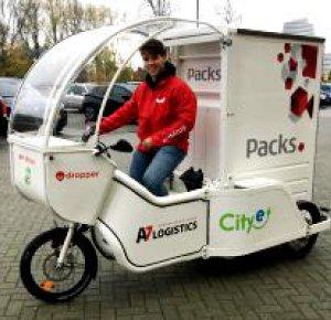 PACKS heeft groene bezorgprimeur in Groningen!