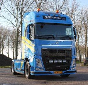 Flex-transport B.V. helemaal weg van de Volvo Performance Edition.
