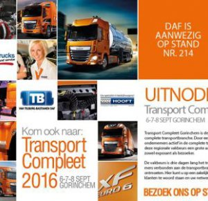 DAF-Dealers pakken uit op Transport Compleet.