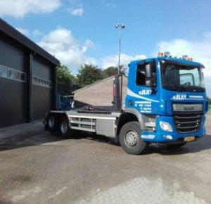 En weer is de DAF CF de absolute winnaar bij Van Elst Transportbedrijf en Containerverhuur in St. Agatha