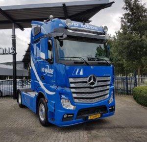 Mercedes-Benz Actros jubileumeditie voor Van der Made Transport.