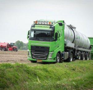 Loonbedrijf Kuunders breidt uit met Volvo FH.