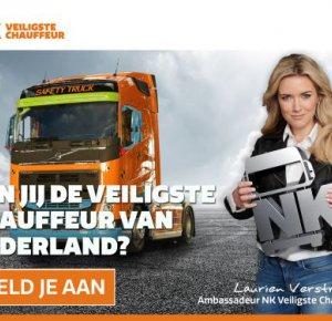 Zoektocht naar veiligste chauffeur van Nederland.