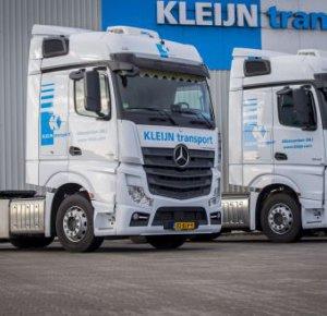 Tien keer Mercedes-Benz Actros voor Kleijn Transport.