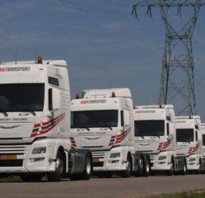 Zes MAN TGX trucks voor MBH Transport.
