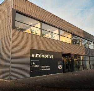 Nieuwe trainingscentrum Fontys Daf Academy.