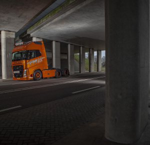 Volvo FH 25 Year Special Edition voor E.J. Luth Transport.