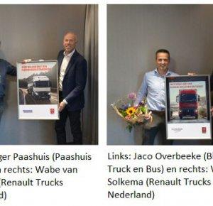 Beste Renault Trucks-Dealer van Nederland.