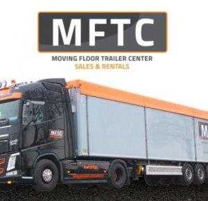 """MFTC levert schuifvloertrailers met vele opties, zoals het """"Over-Quick"""" dak."""