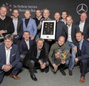 Mercedes-Benz truckdealers en truckvestigingen bekroond met awards.