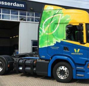 Wemmers Tanktransport verkleint ecologische voetafdruk met Scania CNG.