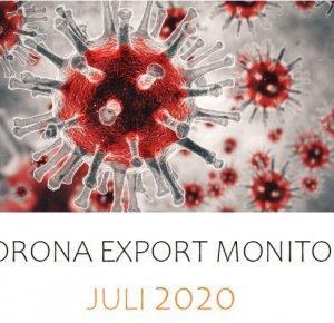 Corona Monitor juli: Trend van minder slechte exportcijfers zet door.