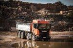 Scania op de TKD: een compleet programma voertuigen voor de zwaarste omstandigheden.