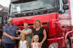 #002 Van DAF XF 90TH Anniversary Edition voor Special-Truck liefhebber Dennis Vos.