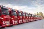 Nieuw bedrijfspand en 350e Volvo truck voor Van Straalen De Vries.