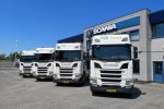 AB Transport Group verduurzaamt wagenpark met Scania LNG.