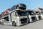 Vier Volvo FM autotransporters completeren wagenpark ATS Transport & Logistiek.
