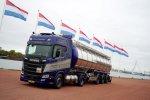 Vijf maal Scania R410 LNG met ADR voor Meijndert Trucking.
