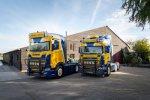 """Chauffeur Niels van Dinant van Iterson: """"Deze Scania S450 is een wereld van verschil""""."""