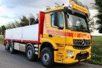 Amerongen Transport breidt vloot uit met eerste Mercedes-Benz Arocs.