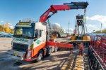 Volvo FH 10x4 zwaartransport truck voor Zwagerman Transport & Hijswerk.