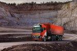 Volvo Trucks biedt zelfrijdende transportoplossing voor Brønnøy Kalk AS.