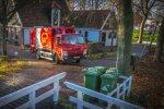 FUSO Canter huisvuilwagen voor GP Groot Inzameling en Recycling.