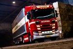 Drie nieuwe Scania R450 trekkers voor Albers Transport.