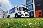 SUEZ investeert in 13 Scania LNG huisvuilauto's.