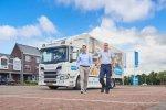 Tieleman Keukens kiest voor Scania P250 als logistiek visitekaartje.