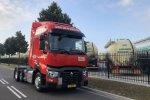 Lichtgewicht Trucks voor Van Den Bosch Transporten.