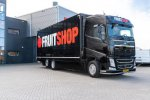 Volvo FH-bakwagen voor Fruitshop.