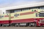 Moeijes Internationale Transporten met nieuwe Actros als LZV naar Duitsland.