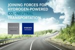 Volvo Group en Daimler in joint-venture voor grootschalige productie van brandstofcellen voor waterstoftrucks.