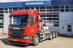Eerste nieuwe Scania G410 XT 8x4 voor Meerleveld.