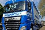 Mijlpaal bij Mainfreight: 750ste DAF.
