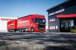 Hansen Dranken uit Limburg beloont trouwe chauffeur met een Scania V8.