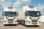 Kuijpers transport vergroot flexibiliteit met twee nieuwe Scania's.