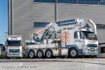 Van Dijk Trucks Woerden levert bijzondere Volvo FM500 met Erkin-kraan aan Jan van Dam Machine Transport.