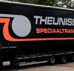 Nieuwe truck en trailer voor 'THEUNISSEN' uit Otterlo.