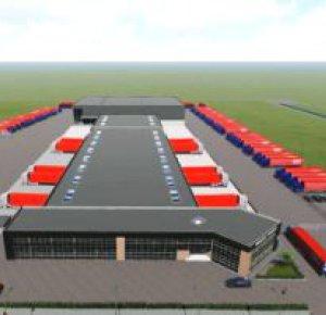 Wederom nieuwbouw voor Rabelink Logistics op A18 Bedrijvenpark.