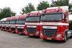 Zeven nieuwe DAF Euro 6 trucks voor Gesink BV Zelhem.